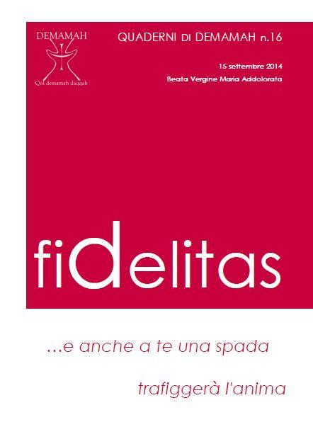 Copertina Fidelitas