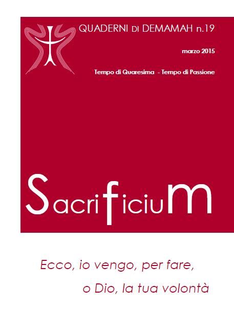 Copertina Sacrificium